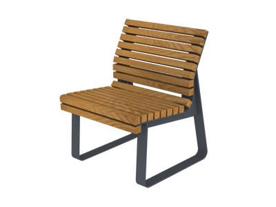 Krzesło Trakt z oparciem