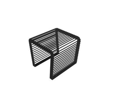 Krzesło Polla bez oparcia