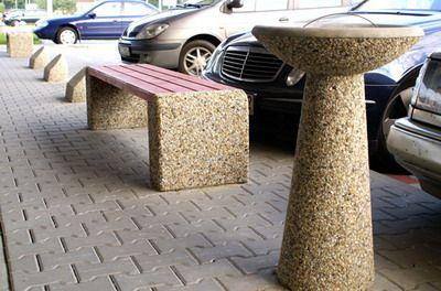 Popielnica betonowa