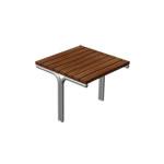 Stół Młodzieżowy metalowo drewniany
